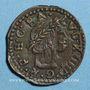 Münzen Louis XIII (1610-1643). Comté de Barcelone. Sizain 1642. Gérone