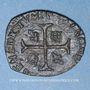 Münzen Louis XIII (1610-1643). Douzain illégal émis par les Huguenots