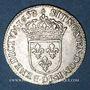 Münzen Louis XIV (1643-1715). 1/12 d'écu à la mèche longue 1658 D. Lyon