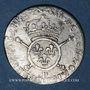 Münzen Louis XIV (1643-1715). 1/12 écu aux insignes (17)02 P. Dijon. Réformation !