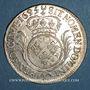 Münzen Louis XIV (1643-1715). 1/2 écu aux palmes 1695 X. Amiens. Réformation