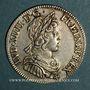 Münzen Louis XIV (1643-1715). 1/4 écu à la mèche courte 1643 A point
