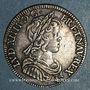 Münzen Louis XIV (1643-1715). 1/4 écu à la mèche courte 1645 A. Point initial au revers