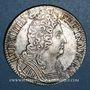 Münzen Louis XIV (1643-1715). Ecu aux 3 couronnes 1715 D. Lyon