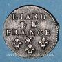 Münzen Louis XIV (1643-1715). Liard de France au buste âgé, 3e type, 1693 &. Aix