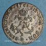 Münzen Louis XV (1715-1774). Double sol en billon 1762 BB. Strasbourg