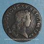 Münzen Louis XV (1715-1774). Liard au buste enfantin 1721 BB. Strasbourg