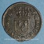 Münzen Louis XVI (1774-1793). Liard 1785 BB. Strasbourg
