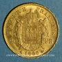Münzen 2e empire (1852-1870). 20 francs Napoléon III tête laurée 1868 A. (PTL 900‰. 6,45 g)