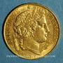 Münzen 2e république (1848-1852). 20 francs Cérès 1851 A. (PTL 900‰. 6,45 g)