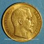 Münzen 2e république (1848-1852). 20 francs Louis Bonaparte 1852 A. (PTL 900‰. 6,45 g)