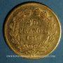 Münzen Louis Philippe (1830-1848). 40 francs tête laurée 1837 A. (PTL 900‰. 12,90 g)