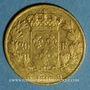 Münzen Louis XVIII (1815-1824). 20 francs buste nu 1816 Q. Perpignan. (PTL 900‰. 6,45 g)