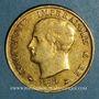 Münzen Royaume d'Italie. Napoléon I (1805-1814). 40 lires 1814 /180 M. Milan. (PTL 900‰. 12,90 g)