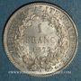Münzen 3e république (1870-1940). 1 franc Cérès 1872 A. Petit A