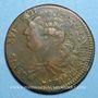 Münzen Constitution (1791-1792). 2 sols 1792 BB. Strasbourg. Type FRANCAIS. Bronze