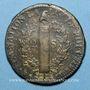 Münzen Constitution (1791-1792). 2 sols 1792 W. Lille, 1er semestre, type FRANCOIS. MdC