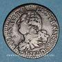 Münzen Constitution (1791-1792). 3 deniers 1792 D. Lyon. 2e semestre. Type FRANCOIS