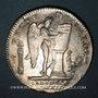 Münzen Constitution (1791-92). Ecu de 6 livres, type FRANCOIS 1792I. Limoges, 1er sem. Variante inédite !