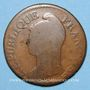 Münzen Consulat (1799-1804). 5 centimes an 9 G. Genève
