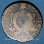Münzen Convention (1792-1793). 2 sols aux balances, type sans date