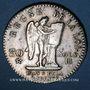 Münzen Convention (1792-1795). 30 sols constitutionnel 1793 BB, type FRANCAIS