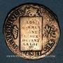 Münzen Convention (1792-1795). Sol aux balances 1793MA. Marseille. Métal de cloche