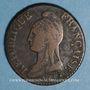 Münzen Directoire (1795-1799). 1 décime an 7 BB. Strasbourg