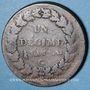 Münzen Directoire & Consulat (1795-1804). 1 décime an (8) G. Genève