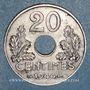 Münzen Etat Français (1940-1944). 20 centimes 1944, Fer