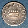 Münzen Royaume d'Italie. Napoléon I (1805-1814). 5 soldi 1810 M. Milan