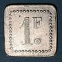 Münzen 11e Génie. Mess. Strasbourg (67). 1 franc