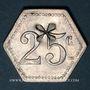 Münzen 11e Génie. Mess. Strasbourg (67). 25 centimes