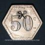 Münzen 11e Génie. Mess. Strasbourg (67). 50 centimes