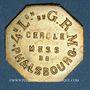 Münzen 4e Légion de Garde Républicaine Mobile. Cercle Mess. Phalsbourg (57). 25 centimes