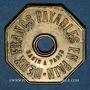 Münzen Ahun (23). Compagnie Anonyme des Houillères d'Ahun. 2 francs payables en pain