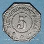 Münzen Alsace. Sélestat (67). 5 (pfennig) 1917