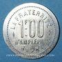 Münzen Amplepuis (69). La Fraternité - Société Coopérative. 1 franc
