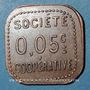 Münzen Amplepuis (69). La Fraternité - Société Coopérative. 5 centimes