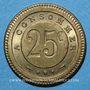 Münzen Besançon (25). G. Joly. 25 centimes à consommer