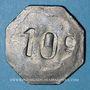 Münzen Bordeaux (33). Société Coopérative Militaire. 10 centimes