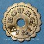 Münzen Bourg-en-Bresse (01). Mess des Sous Officiers du 23e Regt d'Infanterie. 15 centimes