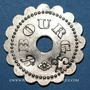 Münzen Bourg-en-Bresse (01). Mess des Sous Officiers du 23e Regt d'Infanterie. 25 centimes