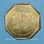 Münzen Castres (81). Au Printemps - Ch. Desplats. 25 centimes