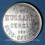 Münzen Cavalerie. 12e hussards. Cercle des sous-officiers. 10 centimes