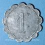 Münzen Cholet (49). Cantine GIRARD - 77e d'Infanterie. 1 franc