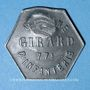 Münzen Cholet (49). Cantine GIRARD - 77e d'Infanterie. 25 centimes. Contremarqué