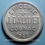 Münzen Cognac (16). Epicerie J. Dalidet. 10 centimes 1922