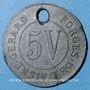 Münzen Crouy (02). Forges de l'Aisne. 5V