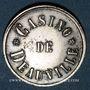 Münzen Deauville (14). Casino. Jeton sans valeur. Maillechort